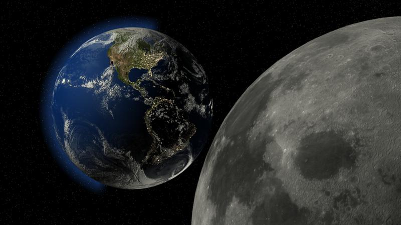 earth like moon - 1280×720