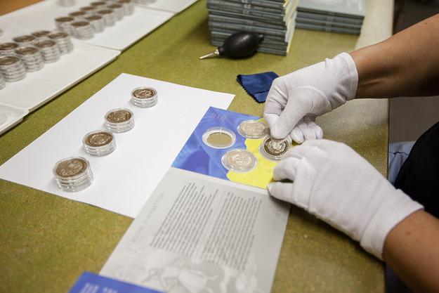 В прошлом году продажа памятных и инвестиционных монет принесла Нацбанку  247,8 млн гривен. 03383d0c718