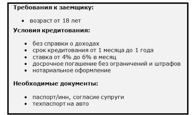 Кредит под залог ПТС в Тюмени