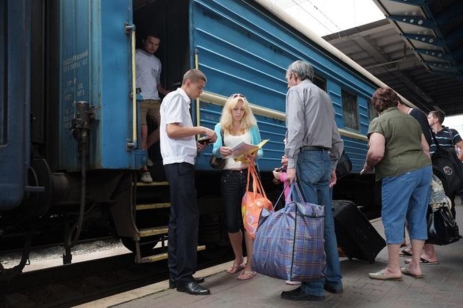В течение первого квартала 2018 года в международных кассах Укрзализныци было оформлено 89 445 проездных документов.