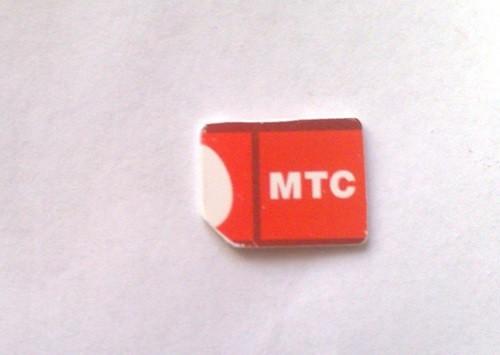 Готовая микроСИМ, сделанная своими руками!